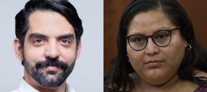 Citlalli Hernández y Antonio Attolini van por la secretaría general de Morena: ya se registraron oficialmente ante el INE (Foto: Twitter /@AntonioAttolini/Cuartoscuro)