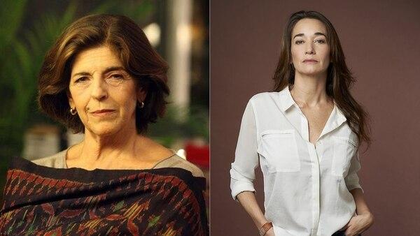 Cristina Banegas y María Ucedo
