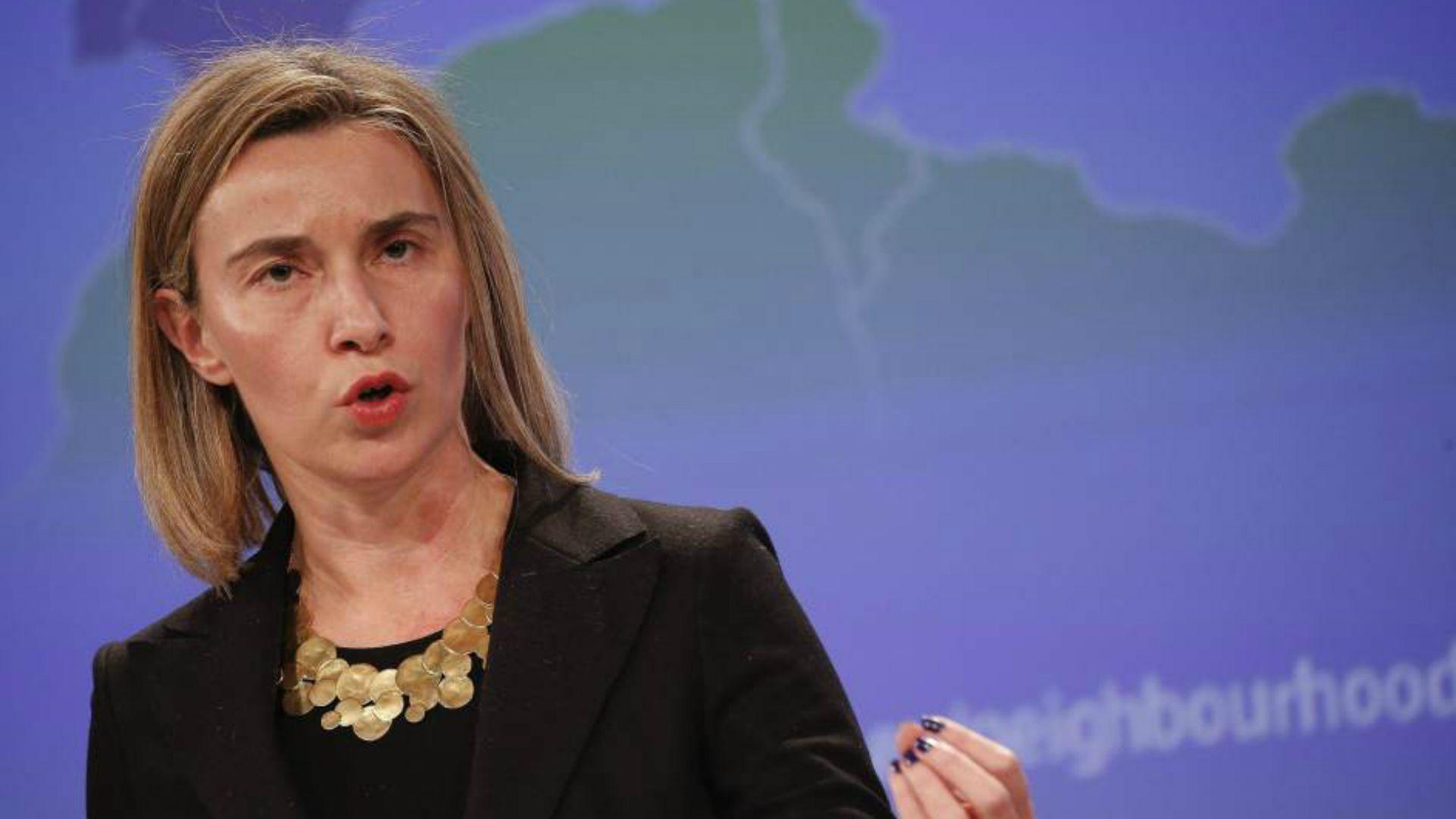 La jefa de la diplomacia europea, Federica Mogherini (EFE)