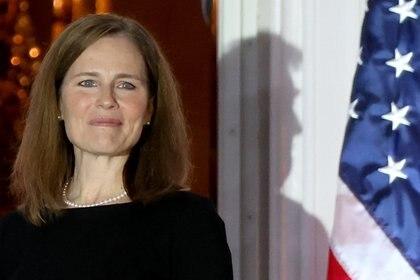 Amy Coney Barrett [26 de octubre de 2020] (Reuters/ Jonathan Ernst)