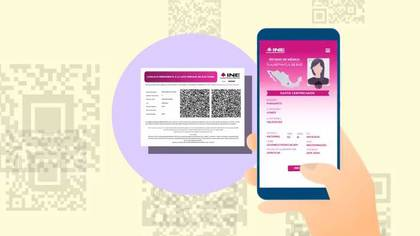 La Constancia Digital tendrá un código QR que a través de una aplicación móvil permitirá validarla ante la autoridad electoral. (Foto: Especial)