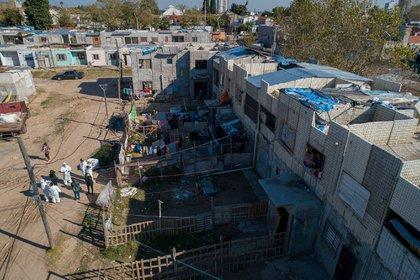 El barrio estuvo 14 días bajo un aislamiento estricto.