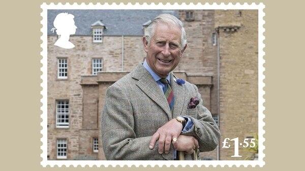 De la colección en conmemoración del cumpleaños número 70 del Príncipe Carlos