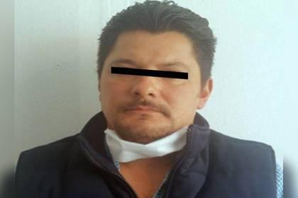 """Detuvieron a Juan Luis """"N"""", alias """"El Chamorro"""" (Foto: Fiscalía del Estado de México)"""