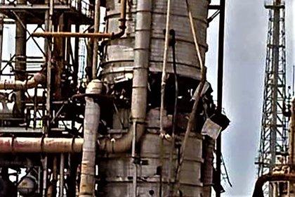 La implosión que afectó una planta del CRP