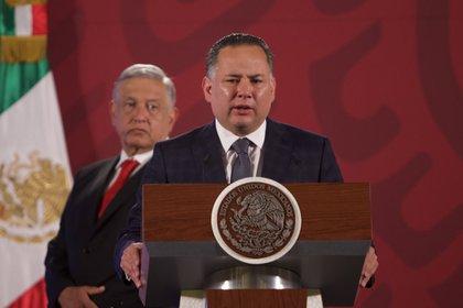 Santiago Nieto, titular de la Unidad de Inteligencia Financiera (Foto: Cuartoscuro)