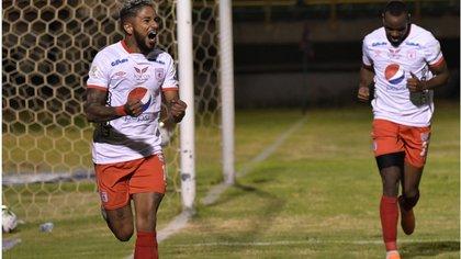 América venció 2 a 1 al Boyacá Chicó. Foto: Tomada de la cuenta de Twitter de América