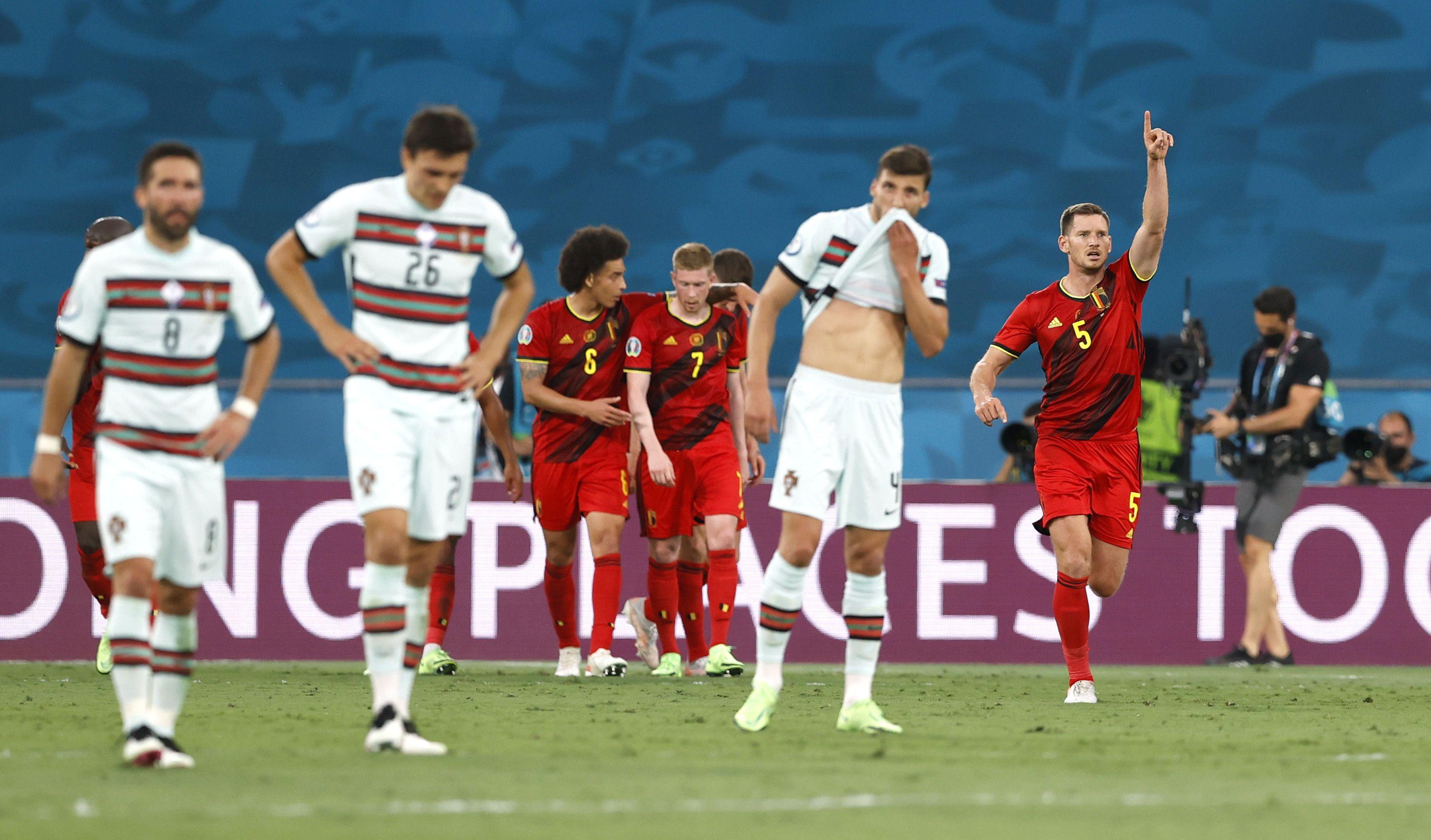 Thorgan Hazard, hermano de Eden, marcó el 1 a 0