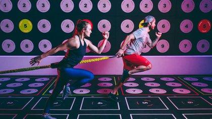 La tecnologíacada vez gana más espacio enlos nuevos gimnasios