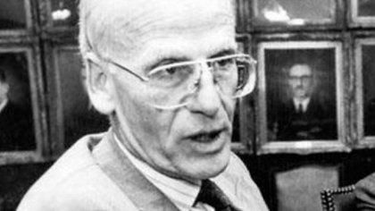 El ex ministro de Economía, Néstor Rapanelli
