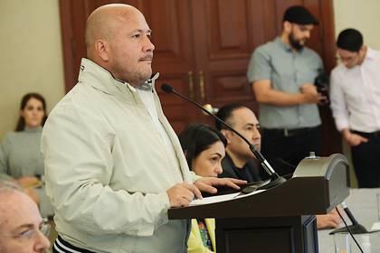 El gobernador, Enrique Alfaro, impuso un toque de queda en Jalisco (Foto: Twitter/saludjalisco)
