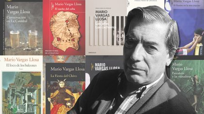 Mario Vargas Llosa, una vida entre libros