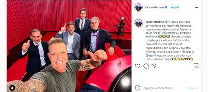 El posteo de Alejandro Fantino tras el final de su programa