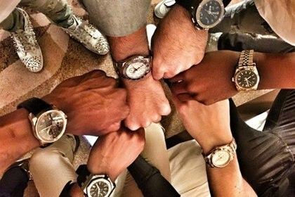 Una competencia por el reloj más caro