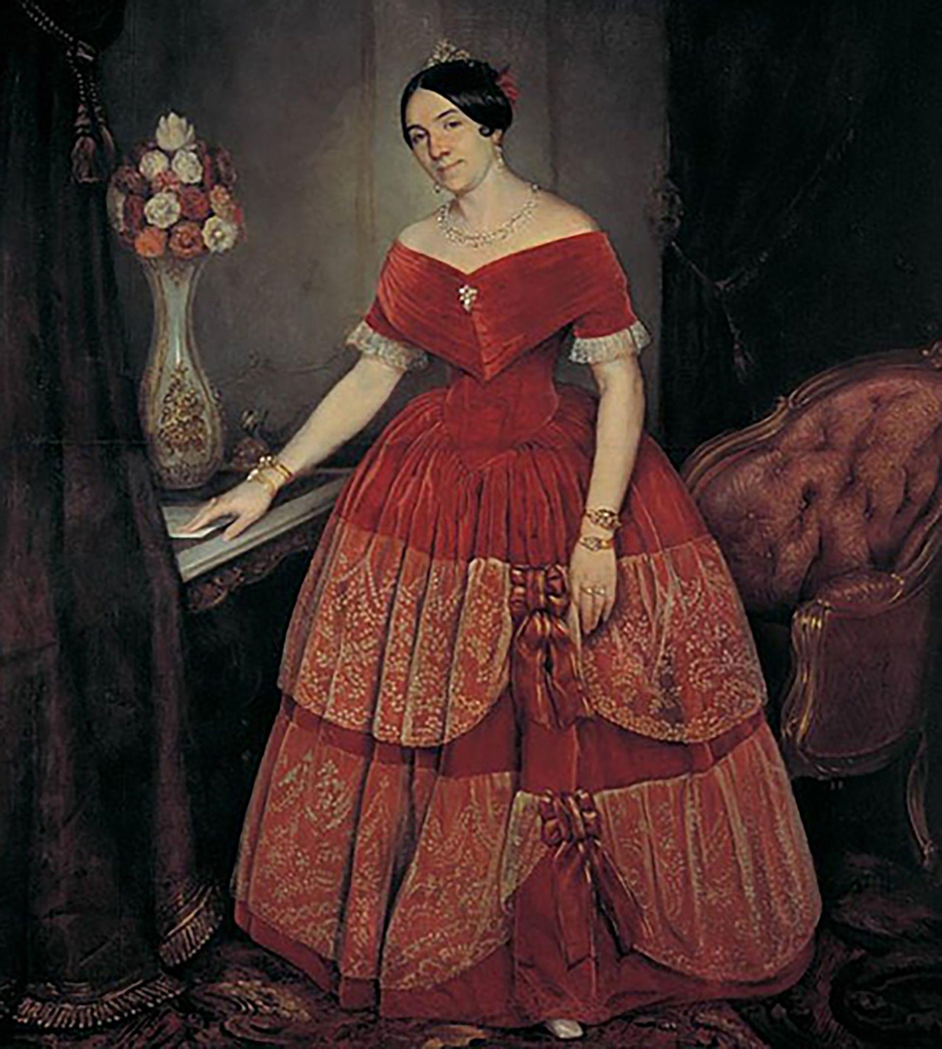 Mientras Rosas se dedicó a su campaña contra los aborígenes, Ezcurra se encargó de dirigir a los subordinados de su marido