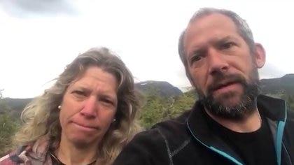 Débora y Pablo Maier, los dueños del campo usurpado