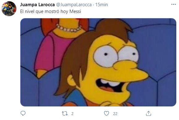 Memes Argentina vs Uruguay, tercer tanda