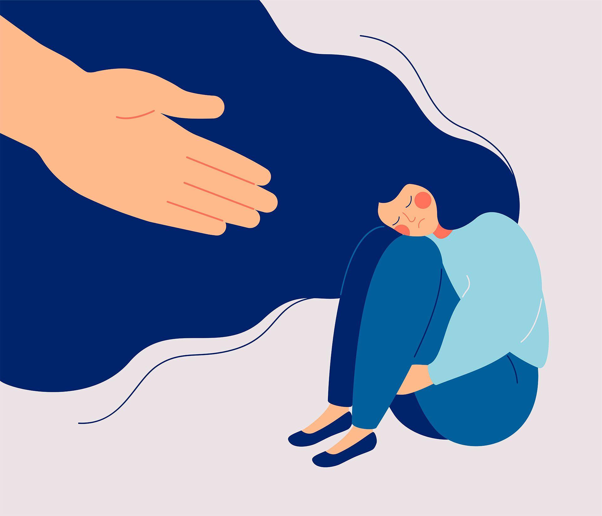 Pasar mucho tiempo hacinados puede incrementar o potenciar la violencia familiar en medio de la contingencia por COVID-19 (Foto: Shutterstock)