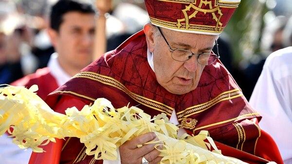 Resultado de imagen para domingo ramos 2018 Francisco