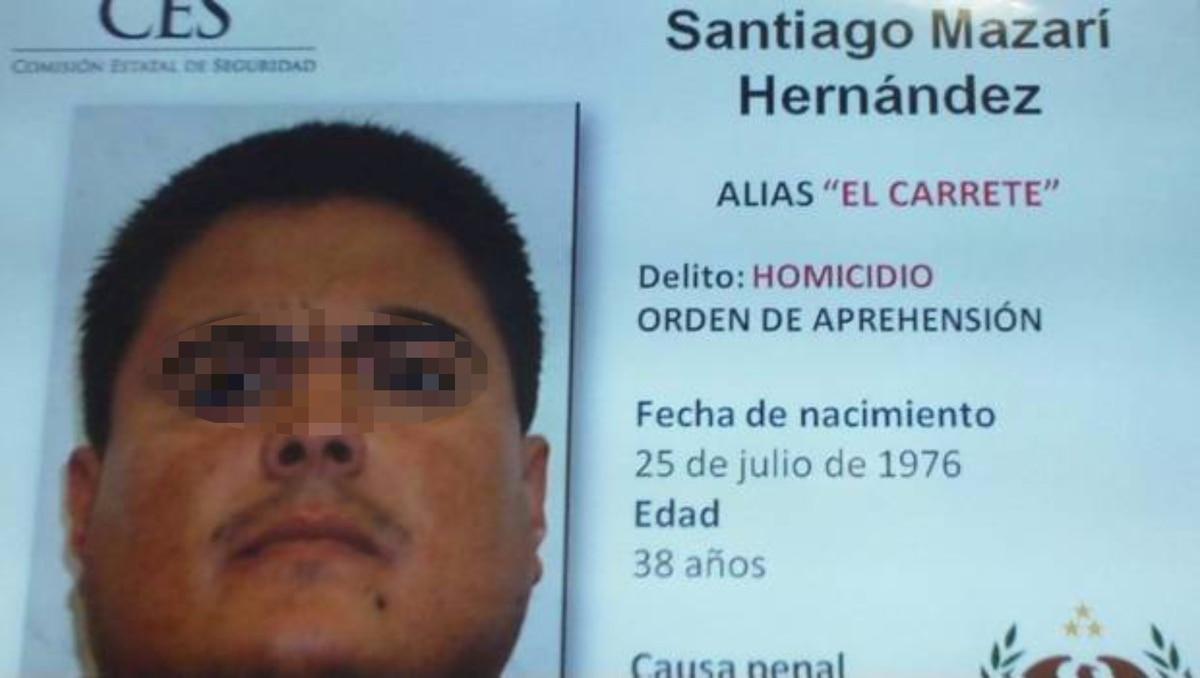 """Federales detuvieron a Santiago Mazari, """"El Carrete"""", líder de Los Rojos y relacionado con el caso de los 43 normalistas desaparecidos"""