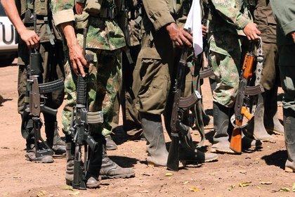 El ataque al vehículo de la ONU ocurrió en el caserío Girasoles, que hace parte del municipio de San Vicente del Caguán. EFE/Mauricio Dueñas Castañeda/Archivo