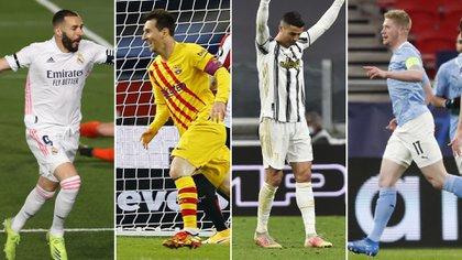 4 figuras que jugarían la nueva Superliga Europea