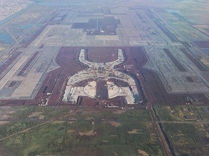 La cancelación del Nuevo Aeropuerto Internacional de México, en Texcoco, fue una de las primeras decisiones del gobierno de López Obrador (Foto: Cuartoscuro)