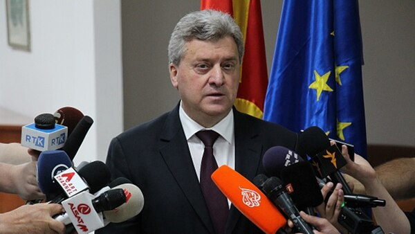 Gjorge Ivanov, presidente de Macedonia (Getty)