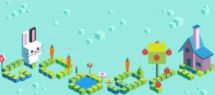 Se puede acceder a una serie de juegos interactivos desde el buscador