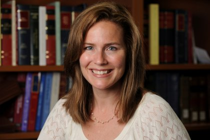 Amy Coney Barrett se graduó en Notre Dame (Matt Cashore/Notre Dame University/Handout via REUTERS./archivo)