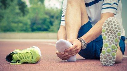 Los corredores están expuestos a padecer diversas lesiones físicas (Getty)