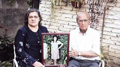 Los padres de María Soledad Morales.