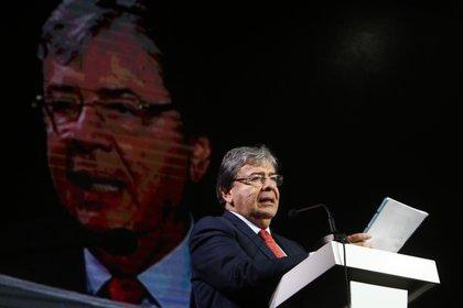 El ministro de Defensa de Colombia, Carlos Holmes Trujillo. EFE/ Luis Eduardo Noriega/Archivo