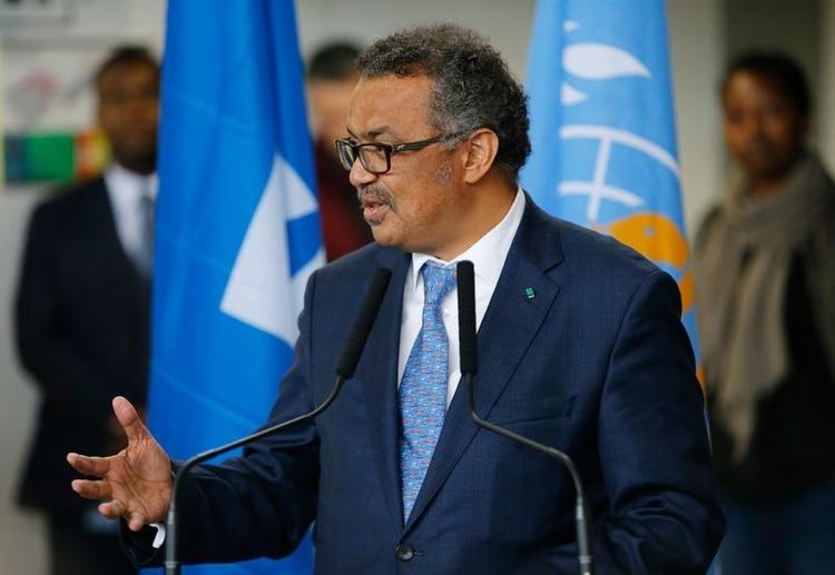Tedros Adhanom Ghebreyesus. Foto: REUTERS/Pierre Albouy