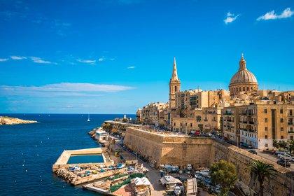 """La capital de Malta, La Valeta, fue fundada a principios del siglo XVI y la UNESCO la llamó """"una de las áreas históricas más concentradas del mundo"""" (Shutterstock)"""
