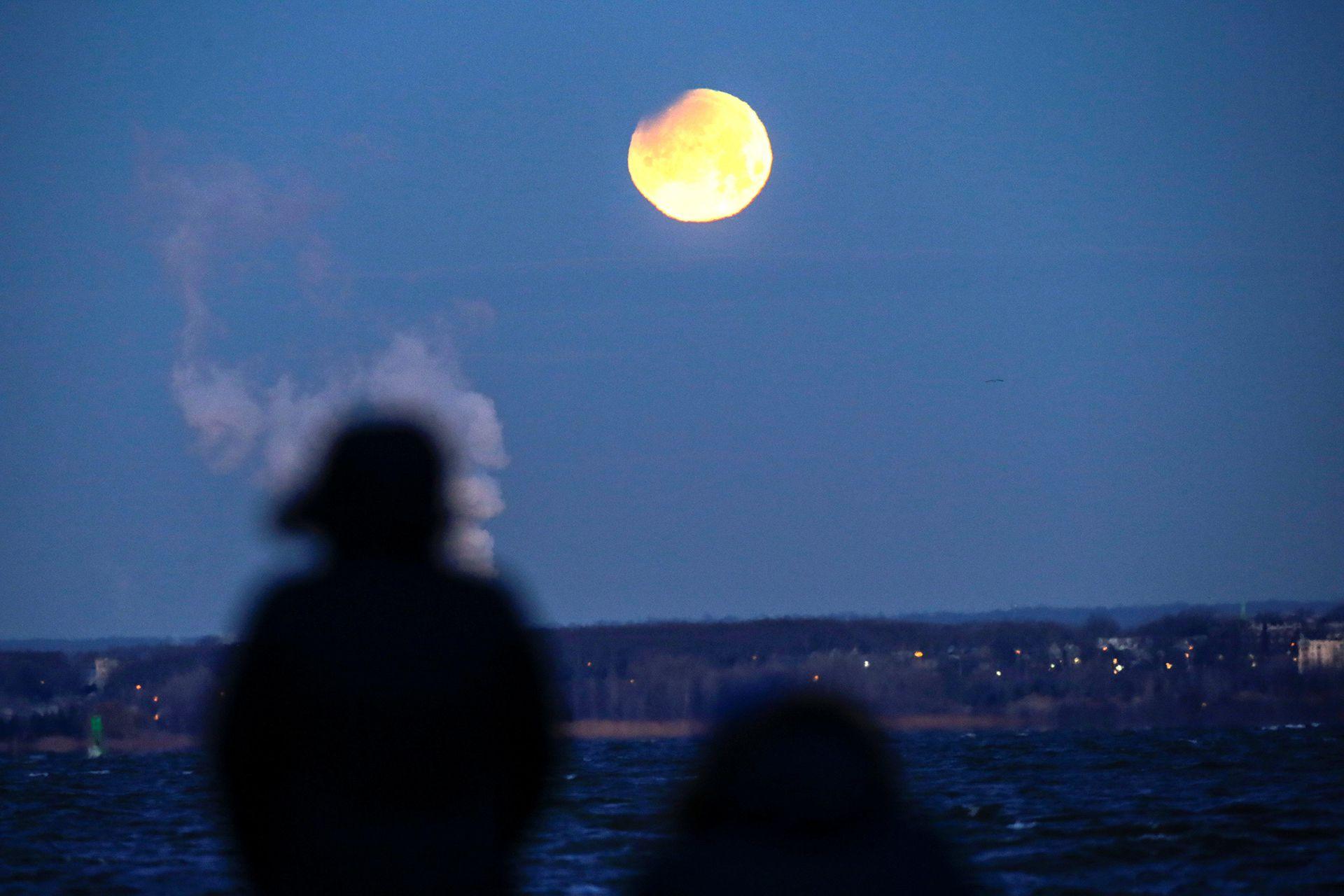Octubre es el único mes del 2020 con dos lunas llenas (Foto: REUTERS/Eduardo Muñoz)
