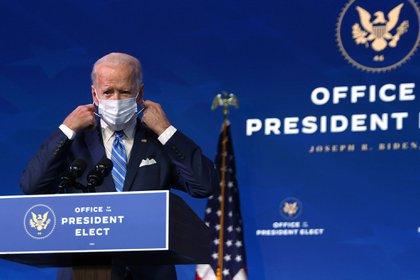El presidente electo de los Estados Unidos, Joe Biden (Alex Wong/Getty)