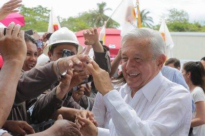 El tabasqueño de 65 años es uno de los presidentes mexicanos más populares desde que se realizan encuestas de aprobación (Foto: Cortesía Presidencia)