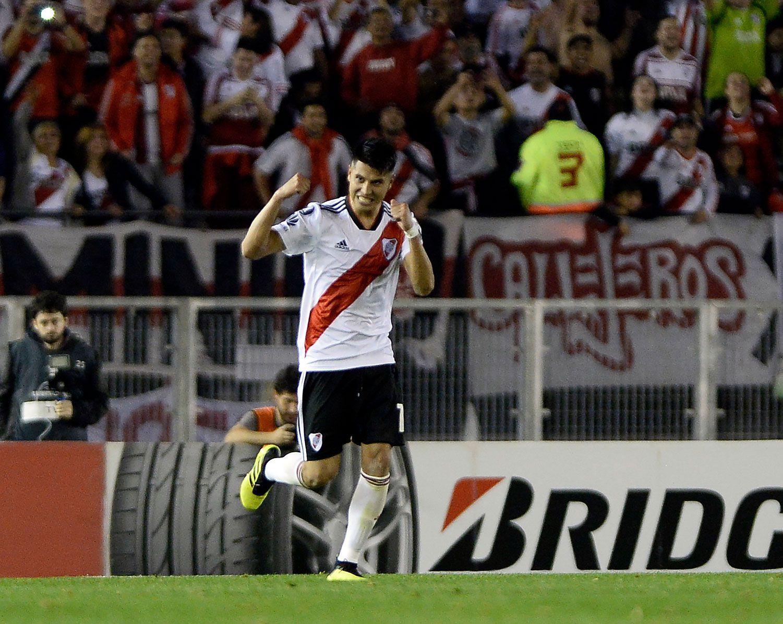 Exequiel Palacios tendría las horas contadas en River. El Bayer Leverkusen lo contrataría en el actual mercado de pases (NA)