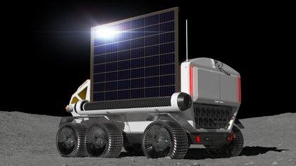 El Lunar Cruiser será una mole de 6 metros de largo, 3,8 metros de alto que podrá llevar hasta cuatro ocupantes.