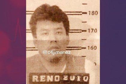 Lenin Jonathan Canchola se formó como golpeador en los grupos de choque de La Asamblea de Barrios y Los Claudios (Foto: Twitter Carlos Jiménez @c4jimenez)