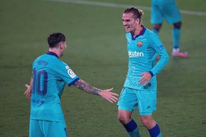 El francés llegó al Barcelona después de rechazar su oferta el año anterior - EFE / Domenec Castelló.