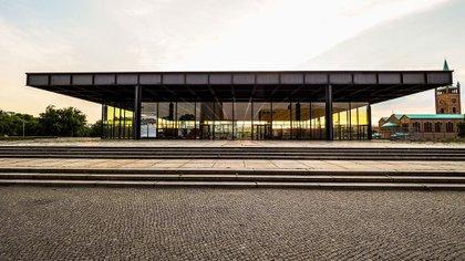La Nueva Galería Nacional de Berlín afincado en Tiergarten, es un museo inaugurado en 1968 diseñado por el arquitecto Ludwig Mies van der Rohe (Shutterstock)
