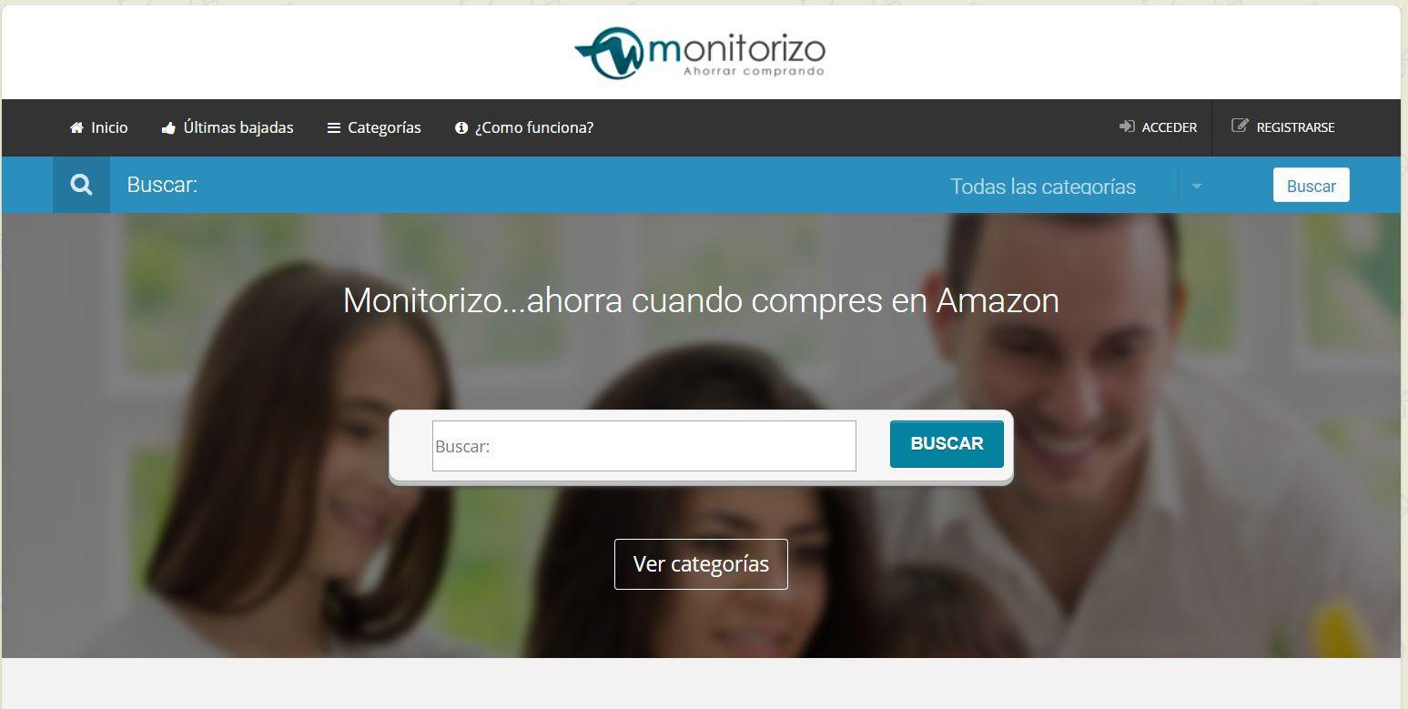 Monitorizo filtra específicamente las ofertas de Amazon.