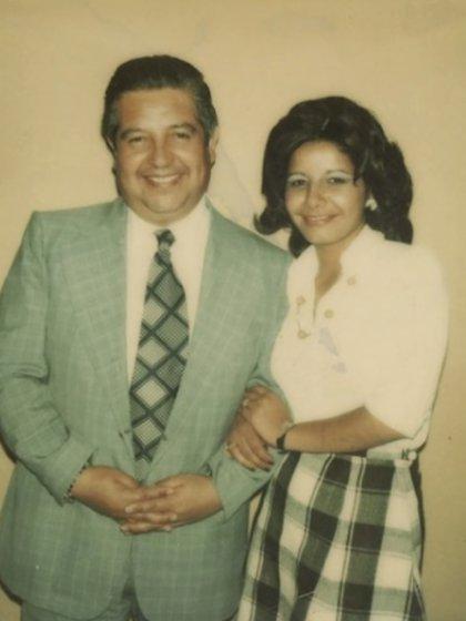 Adriana Rivas junto al Jefe de la DINA Manuel Contreras