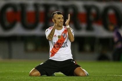 Matías Suárez se ganó su lugar y continuaría en River (REUTERS/Agustin Marcarian)