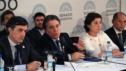 """El ministro de Hacienda había anticipado en el Senado que la """"situación no es nada sana"""" (Pablo Grinberg)"""