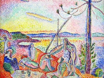 Lujo, calma y voluptuosidad (1904) de Henri Matisse