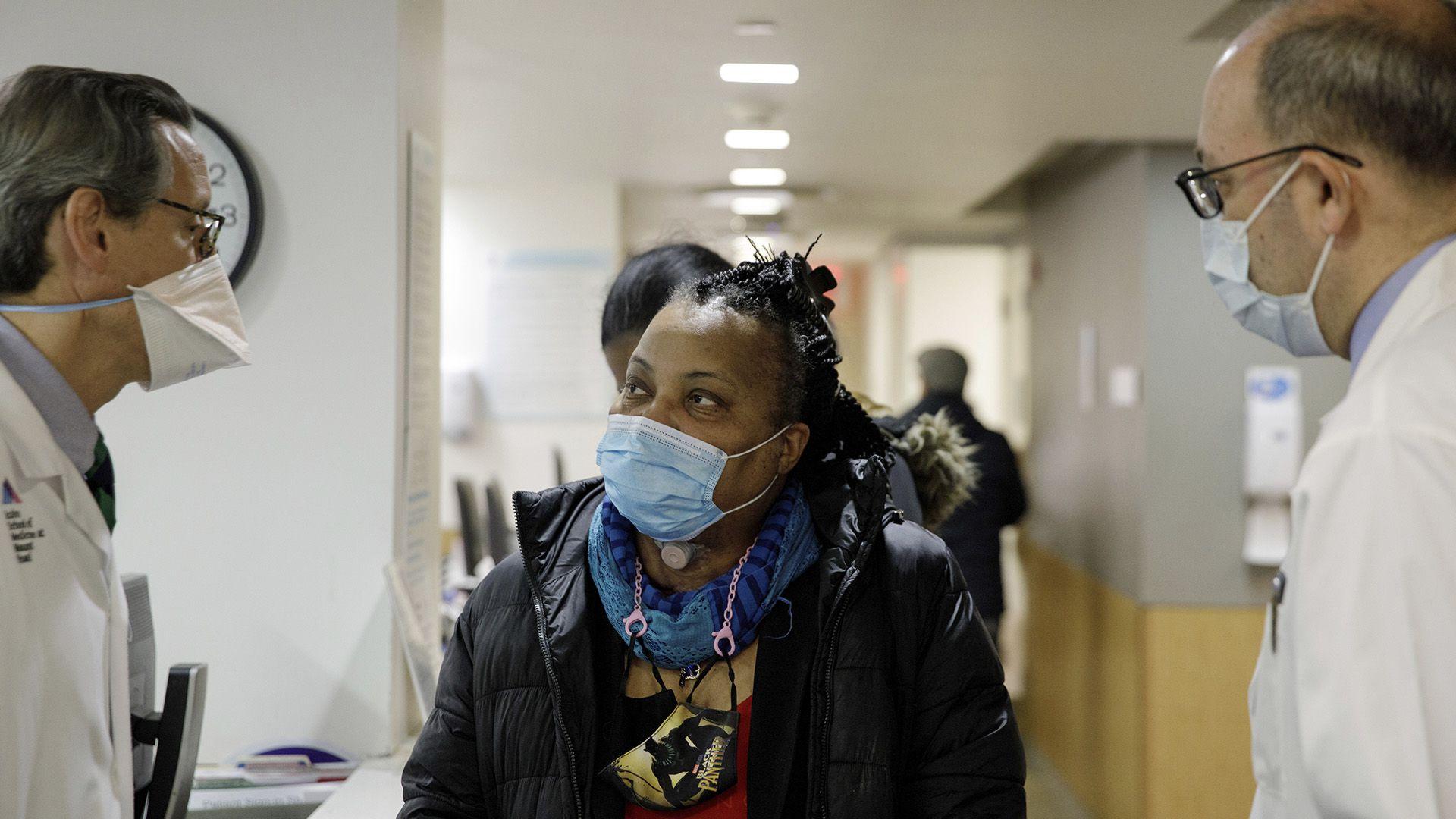 Sonia Sein trasplante de tráquea