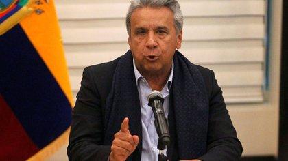 Lenín Moreno, presidente de Ecuador, retiró a Quito como sede de las negociaciones (Reuters)